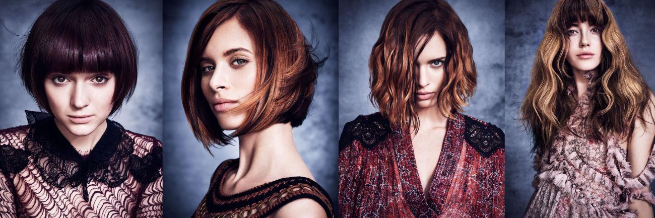 Space hair aveda hair models